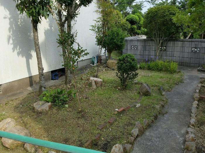 神戸市垂水区K様邸 お庭のお手入れ のアフター画像3