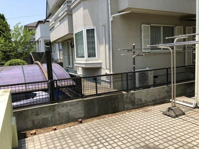 神戸市西区H様邸 伐採他作業 のアフター画像1
