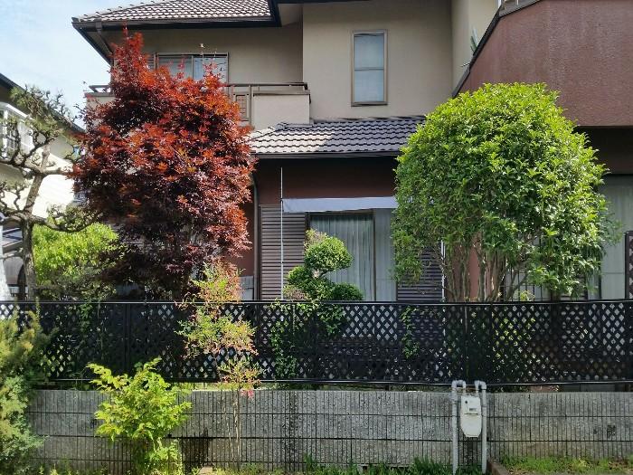 神戸市北区S様邸 お庭のお手入れ のビフォー画像1
