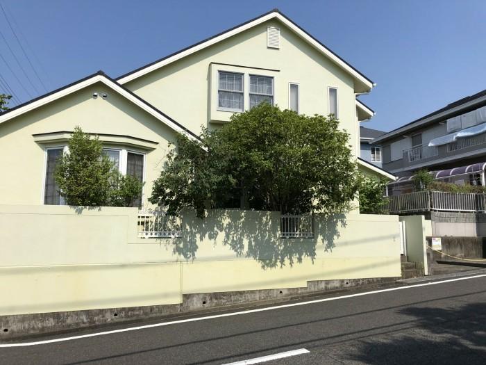 神戸市西区H様邸 伐採他作業 のビフォー画像2
