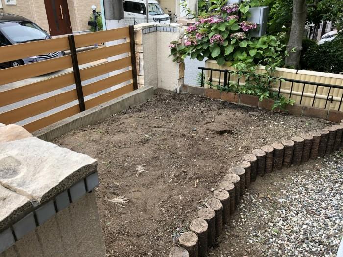 神戸市西区N様邸 除草作業 のアフター画像2