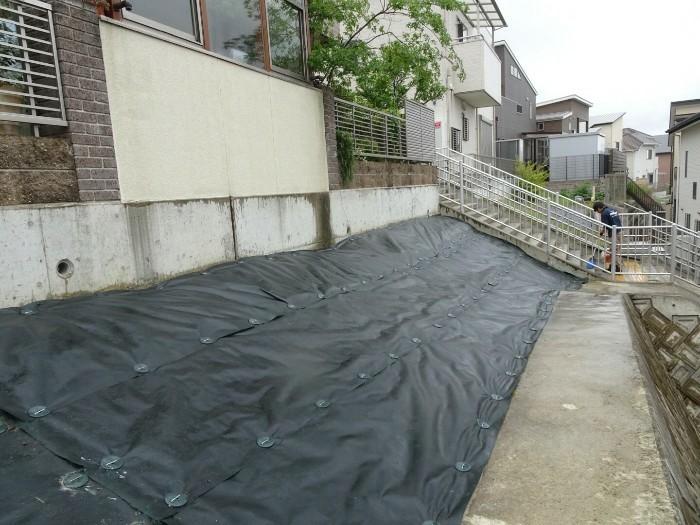 神戸市垂水区N様邸 防草対策 のアフター画像1