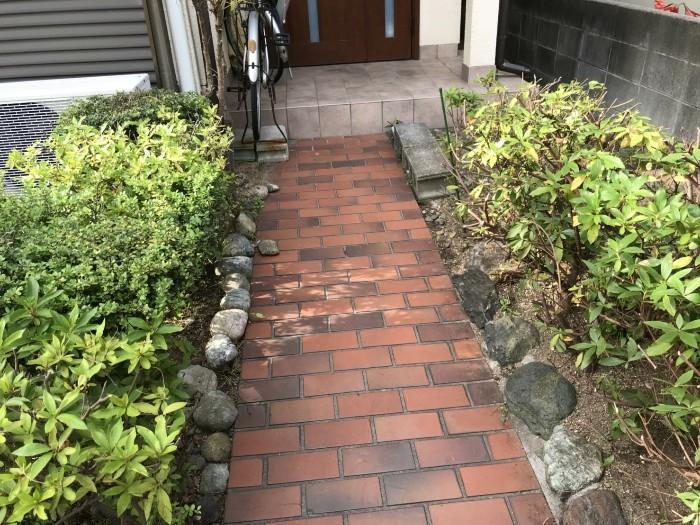 神戸市垂水区D様邸 お庭のお手入れ のアフター画像1
