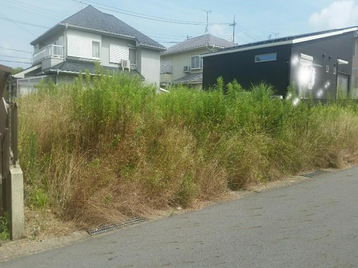 三木市志染町H様 草刈作業 のビフォー画像1