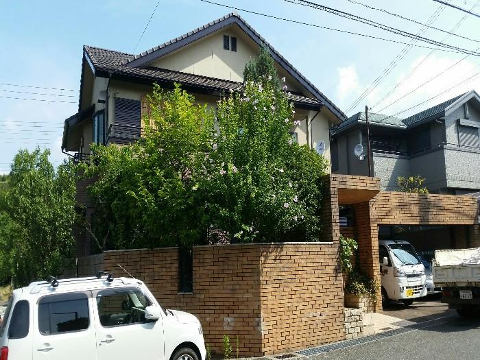 神戸市西区 N様邸お庭のお手入れ のビフォー画像1