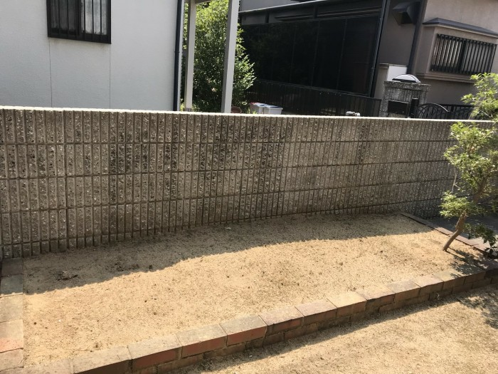 神戸市西区K様邸 草刈作業 のアフター画像1